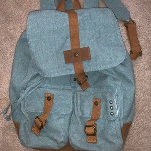 Mossimo teal backpack